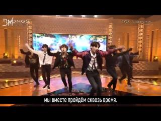 [RUS SUB][28.04.18] BTS - DNA (Japanese ver.) @ NHK
