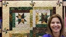 Part 1: Starry Log Cabin Quilt From a Jelly Roll!