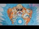 Cách vẽ tranh quy lão kame How to draw Master Roshi
