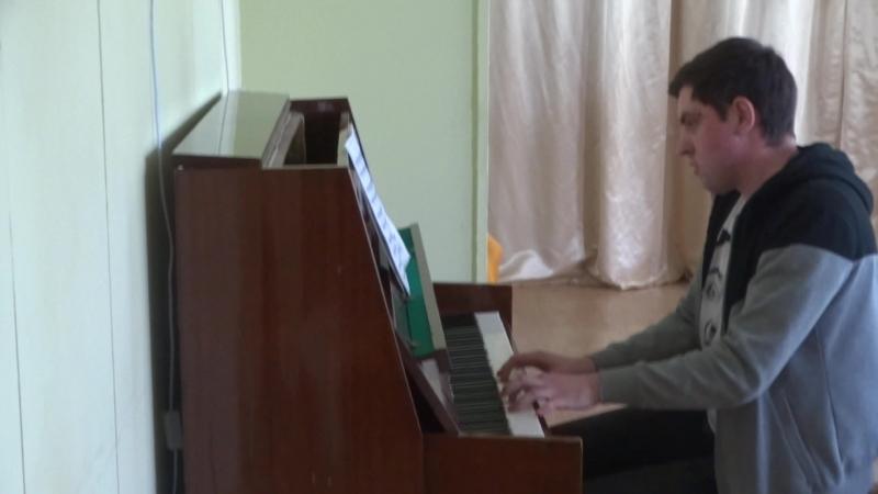 С.В.Рахманинов.Прелюдия си минор.(op.32 номер 10), исполняет Гавриил Овчинников