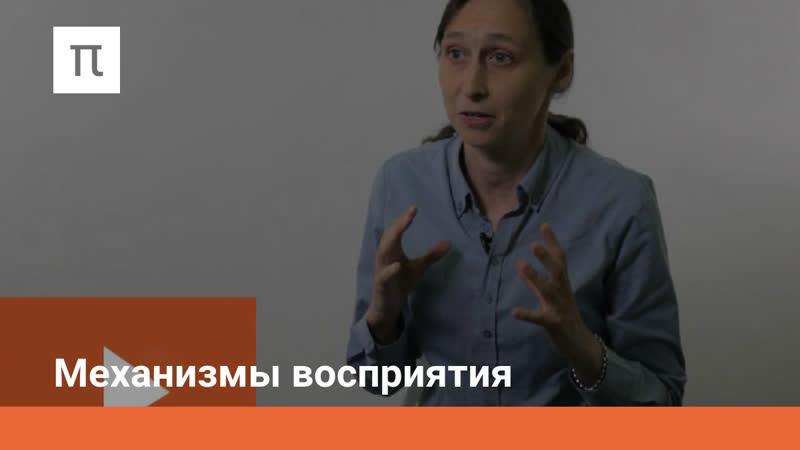 Механизмы восприятия (5/15) Психология познавательных процессов - Мария Фаликман (лекции ПостНаука)