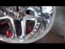 3 Piece Wheel Building Fully Polished Blitz 03s