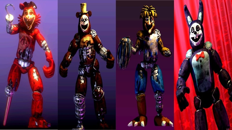 Five Nights at Freddy's: The Twisted Carnival.