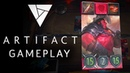 Artifact 7 Minutes of Exclusive Gameplay Valve's New Card Game