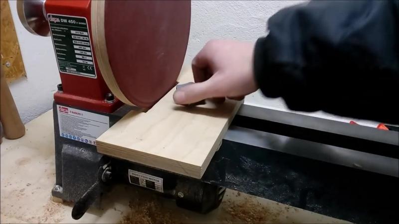 Приставка шлифовальный круг для токарного станка. Мастер-класс от Ollaris