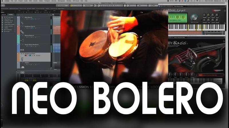 NEO BOLERO Demo Audio loops Samples para Bolero Tradicional Moderno Clasico de trio Rex Apple Loops