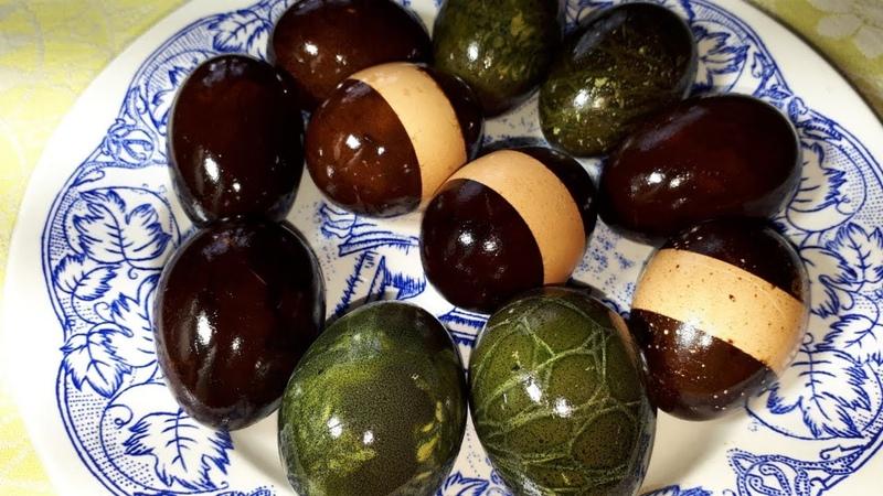 Как покрасить ЯЙЦА НА ПАСХУ? ТАКОГО ВЫ ТОЧНО НЕ ЗНАЕТЕ! Необычный способ покраски пасхальных яиц » Freewka.com - Смотреть онлайн в хорощем качестве