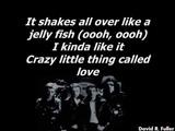 Queen - Crazy Little Thing Called Love Karaoke (Real Queen Karaoke)