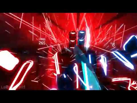 Beat Saber Custom Song Through The Fire And Flames HIGHEST COMBO 758