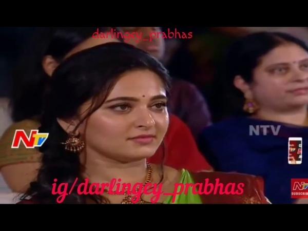 Prabhas Anushka - YHPHK | Bahubali Tamil Audio launch | Darling Sweety | Pranushka video.