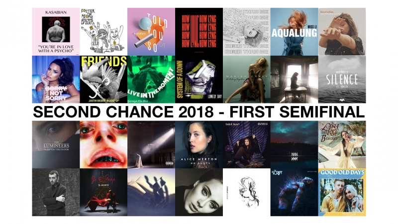 • Second Chance (41/50) • 1st Semifinal •