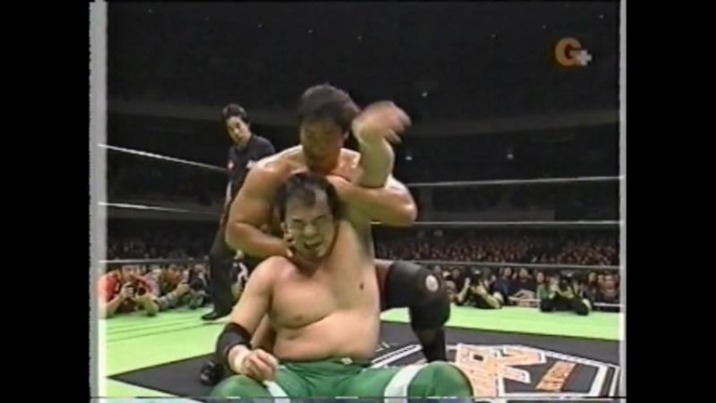 [My1] (2003.03.01) - Mitsuhara Misawa vs. Kenta Kobashi
