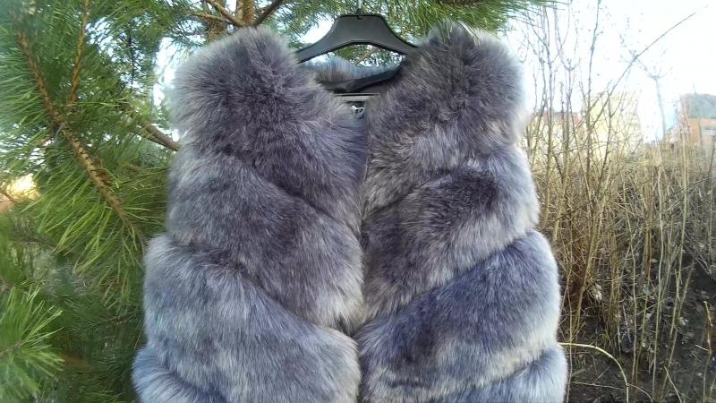 Хутряні виробки жилекта екохутро високої якості экомех меховые безрукавки жилетки куртки шубы