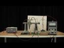 Конденсатор с диэлектриком, поляризация, MIT Physics Demo, Adjustable Capacitor with Dielectric