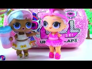 #лол капсулы посылка куклы лол 4 серия декодер #сюрпризы видео для детей lol surprise under wraps
