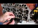 Большой расход масла сборка двигателя 6часть Toyota Caldina 2003 Тойота Калдина 2,0