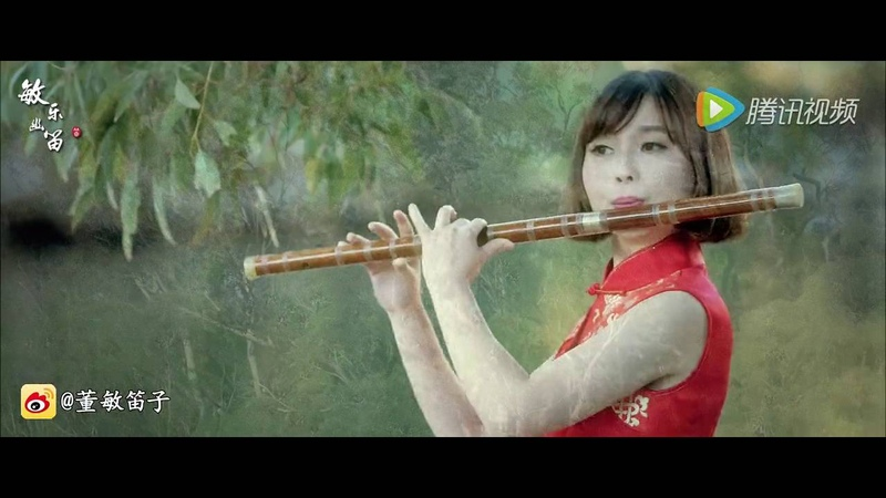 《Theme song of Big Fish Begonia》DongMin Chinese dizi music Bass bB key 彼岸天的海与梦|董敏笛子演绎大鱼海棠印象曲《大鱼》
