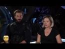 """Интервью Криса и Скарлетт для """"Entertainment Tonight"""""""