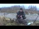 Охота на бобра капканом зимой. Тактический ремень для охотника.