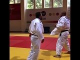 Илиадис тренируется с Тушишвили
