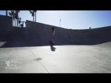 Впечатляющий 9-летний профессиональный скейтбордист
