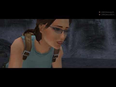 Tomb Raider Anniversary начало игры чуток пострелЯл по пырыгал и норм