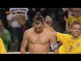 Супер гол Златана в ворота сборной Англии