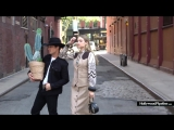 Gigi Hadid and Bull Rider Bonner Bolton Pose Down in the Middle of Manhattan