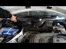 снятие трапеции стеклоочестителя на Мерседес 124. и как добраться до мотора печки