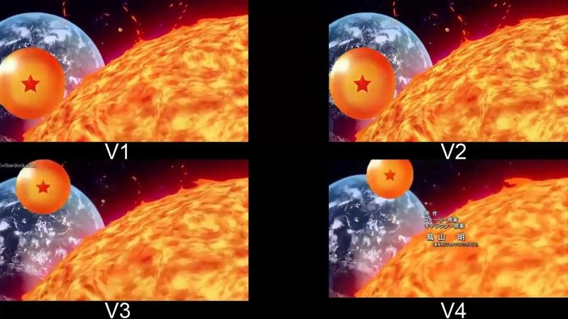 Comparación de Openings de Dragon Ball (Z, Gt, Kai, Super) (Latino)