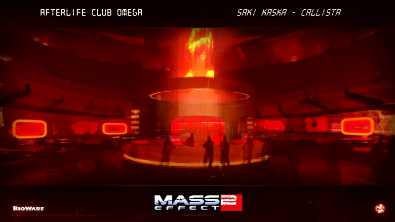 Mass Effect 2_ Afterlife Club Omega - 1 HOUR (Saki Kaska - Callista)