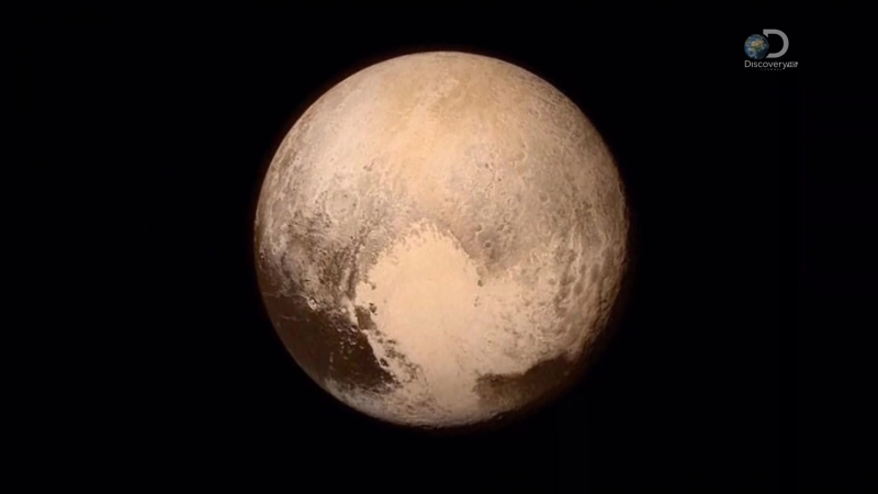 Discovery Плутон Первая встреча პლუტონი პირველი გაცნობა (2015)
