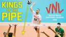TOP » 30 Best Volleyball Pipes | KINGS of the Pipe | VNL - 2018
