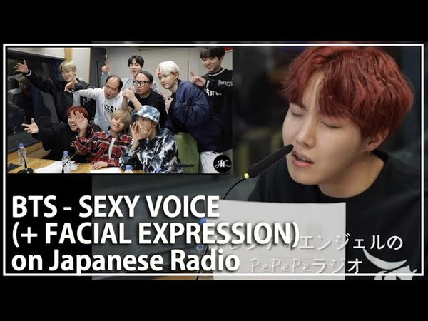 [Eng Es PT Sub 한글자막] BTS SEXY VOICE on Japanese Radio with FACIAL EXPRESSION! ASMR 방탄소년단 섹시보이스 도전