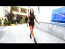 Mini Dresses, Skirts and high Heels Fashion. Walking Boots Black
