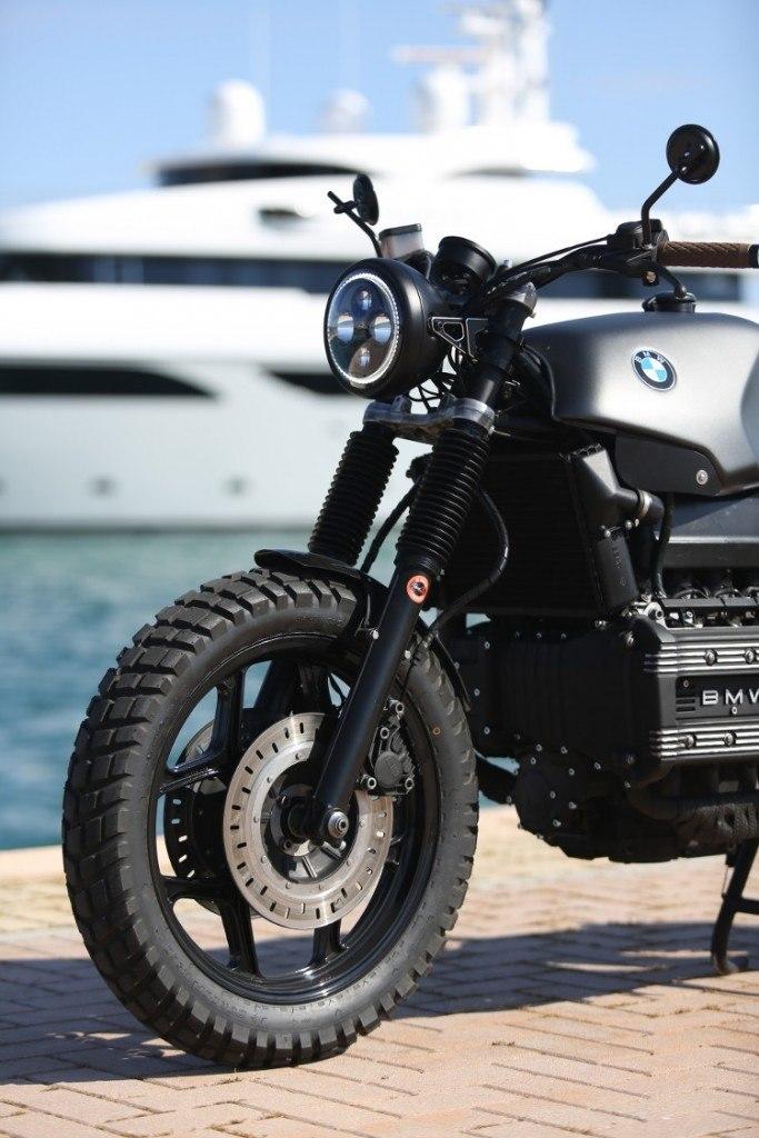 De Angelis Elaborazioni: кастом BMW K100 Flying Brick