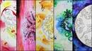 5 красивых абстрактных фонов. TAG Раскрашивательный Youtube