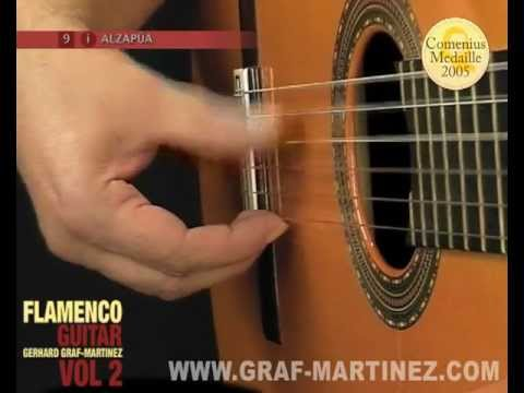 How to play the Alzapúa Flamenco guitar DVD by Graf Martinez Lesson 8