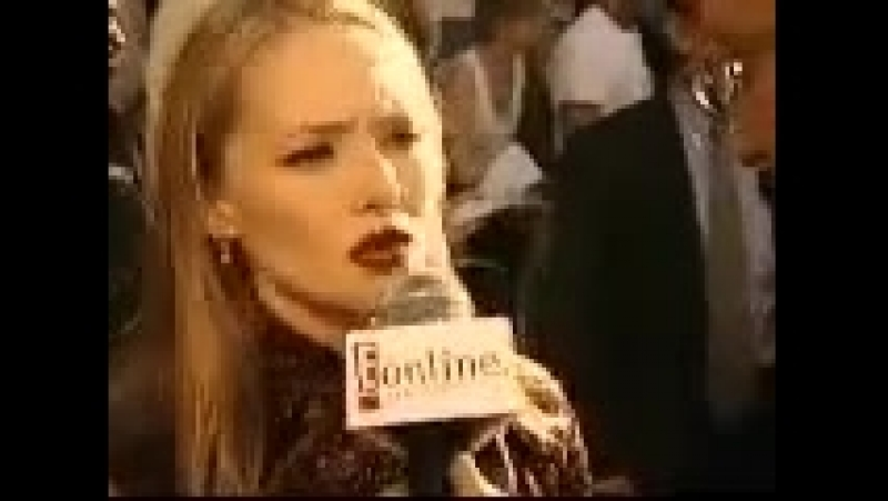 GODZILLA® (1998) - Interview with Maria Pitillo at the Premiere Screening