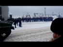парад в честь 100 летия СА и Ф. Североморск 24.02 2018