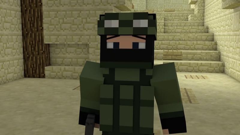 Minecraft cs go animasyon