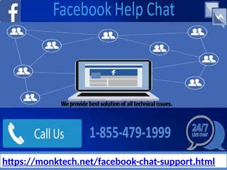 Get instant 1-855-479-1999 Facebook Help Chat support in your comfort zone