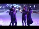 "Аяс Допай, Евгения Хамаева, Оюна Базарова, Баира Сарпеева - отрывок из съемок клипа ""Coca-Cola"""