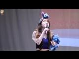 Fancam 180922 OH MY GIRL (Seunghee &amp Mimi focus) Mokdong Fansign
