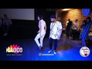 Frankie Martinez y Anna Zvyagina - Cha-cha-cha Dancing in Mambolove (09.06.2018)