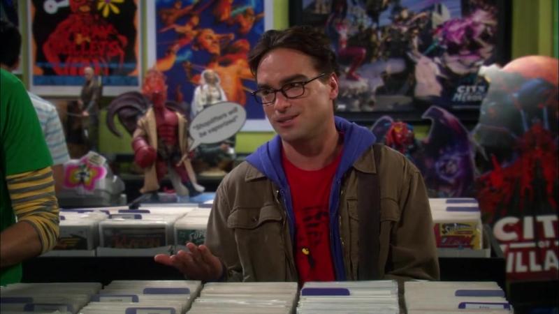 The Big Bang Theory S04E05 j m etw unter die Nase reiben