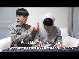 Песни на игрушечном пианино и синтезаторе