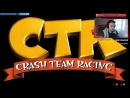 CRASH TEAM RACING (Crash Bandicoot/ CTR)(прохождение часть 1)