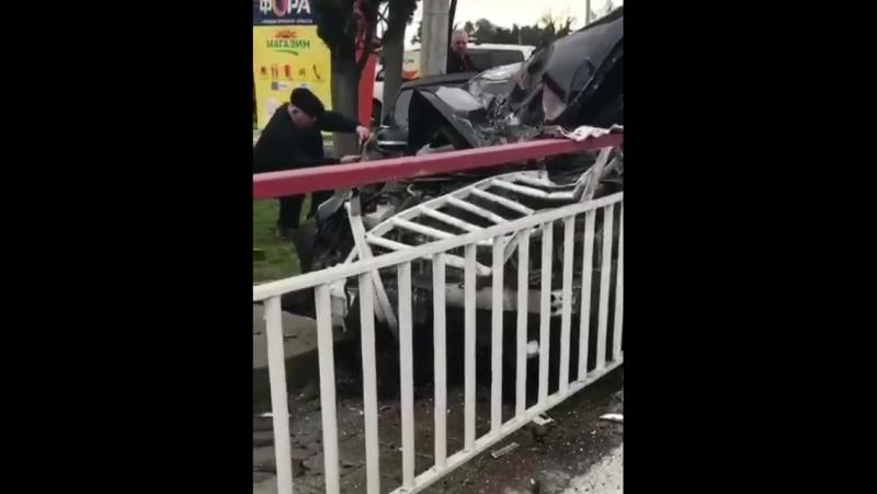 Сегодня около аэропорта Сочи по дороге в Красную поляну произошло ДТП. Информации о пострадавших нет.