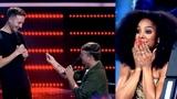 Marriage Proposal On The Voice Australia 2018 - Nathan Brake 'Jealous' - Blind Audition.